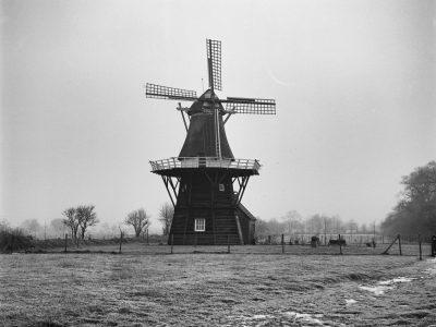 19th century mill in Vledder